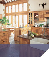 Country kitchens at Chepstow an Bulwark, Monmouthshire, South Wales