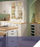 Traditional yet modern kitchens